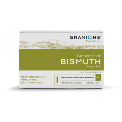 GRANIONS DE BISMUTH 2mg/2ml, solution buvable