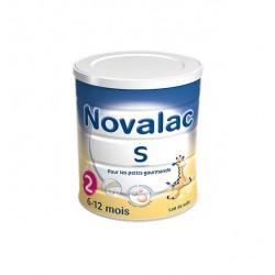 LAIT INFANTILE S N° 2 800G 6-12mois NOVALAC
