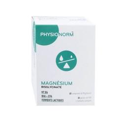 PHYSIONORM MAGNESIUM 60 COMPRIMES + 30 GELULES IMMUBIO