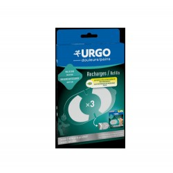 RECHARGES PATCH ELECTROTHERAPIE MAL DE DOS X3 URGO