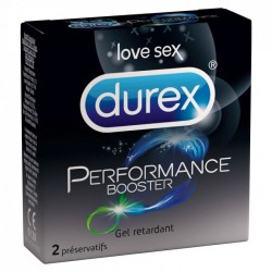 DUREX LOVE SEX PERFORMANCE BOOSTER 10 PRESERVATIFS