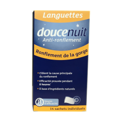 DOUCE NUIT ANTI RONFLEMENT 14 LANGUETTES PHARM UP