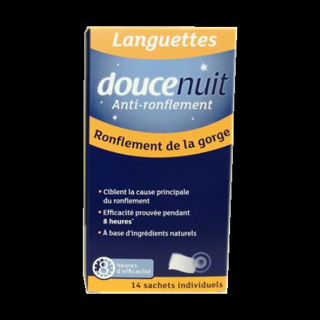 DOUCE NUIT ANTI RONFLEMENT 14 LANGUETTES PHARM UP