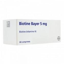 BIOTINE 5MG 60 COMPRIMES BAYER