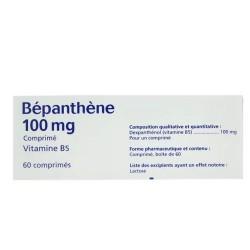 BEPANTHENE 100MG 60 COMPRIMES BAYER