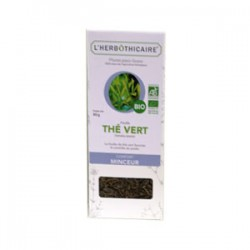 INFUSION THÉ VERT BIO 80G L HERBOTHICAIRE