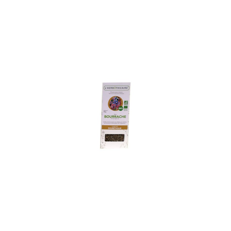 INFUSION BOURRACHE BIO 50G L HERBOTHICAIRE