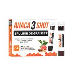 ANACA 3 SHOT BRULEUR DE GRAISSES X14 NUTRAVALIA