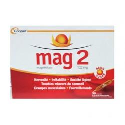 MAG 2 SANS SUCRE 30 AMPOULES COOPER