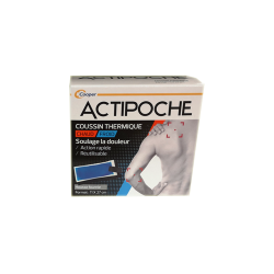 ACTIPOCHE COUSSIN THERMIQUE CHAUD FROID 11X27 CM COOPER