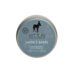 SAVON à BARBE LAIT D'ANESSE BIO 150G HITTON