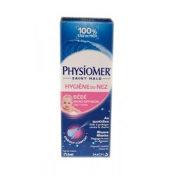 PHYSIOMER BEBE HYGIENE DU NEZ 115ML SANOFI