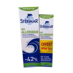 SPRAY NEZ ALLERGIQUE 100ML + 50ML OFFERT STERIMAR