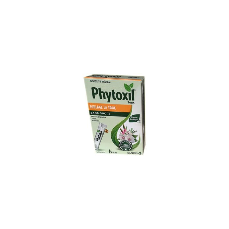 PHYTOXIL TOUX SANS SUCRE 12 SACHETS SANOFI