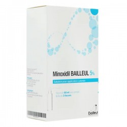 MINOXIDIL 5% 3 X 60ML BAILLEUL