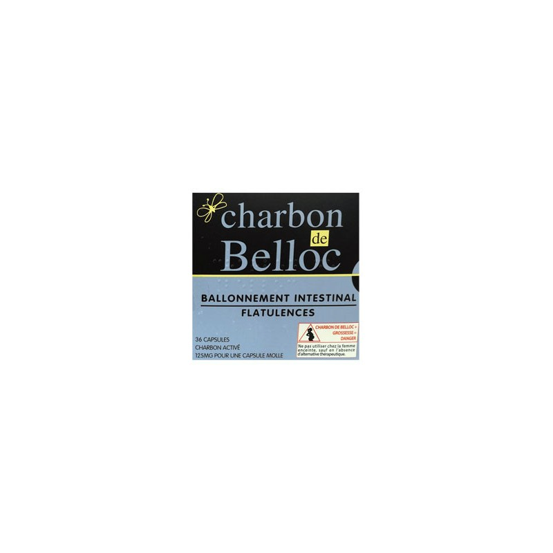 CHARBON DE BELLOC 36 CAPSULES URGO