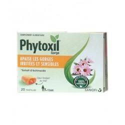 PHYTOXIL GORGE 20 PASTILLES SANOFI