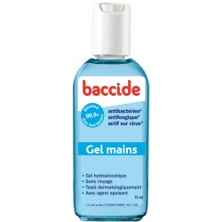 GEL MAINS SANS RINCAGE BACCIDE 75ml