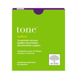TONE AUDITION 60 COMPRIMES NEW NORDIC
