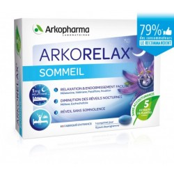 ARKORELAX SOMMEIL 15 COMPRIMES ARKOPHARMA