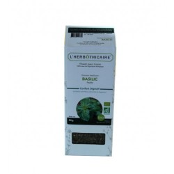 INFUSION BASILIC BIO 50G L HERBOTHICAIRE
