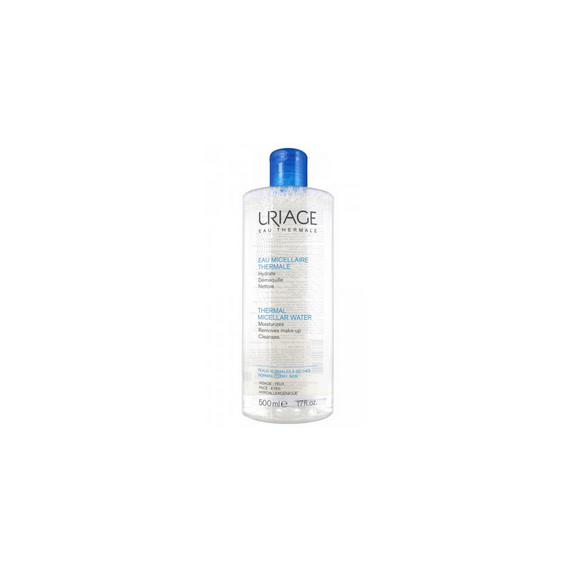 EAU  MICELLAIRE THERMALE PEAUX NORMALES A SECHES 500ML URIAGE