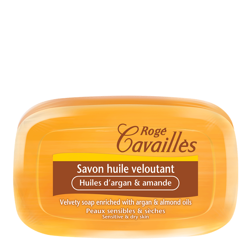 SAVON HUILE VELOUTANT 115G ROGE CAVAILLES