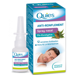 SPRAY NASAL ANTI RONFLEMENT 15ml  QUIES