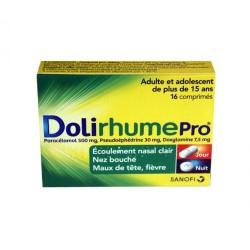 DOLIRHUME  PRO 16 COMPRIMES SANOFI