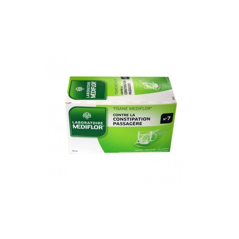 INFUSION CONSTIPATION N°7 - 24 SACHETS MEDIFLOR