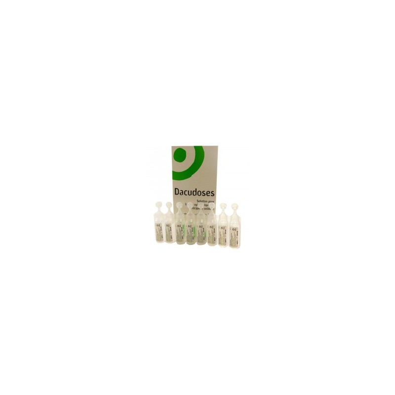 DACUDOSES LAVAGE OPHTALMIQUE 24X10ML THEA