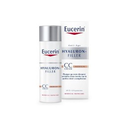 HYALURON FILLER CC CREAM MEDIUM EUCERIN