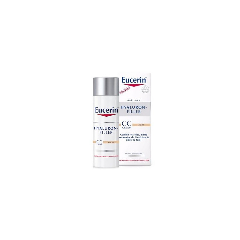 HYALURON FILLER CC CREAM LIGHT EUCERIN