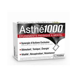 ASTHE 1000 EPUISEMENTS PHYSIQUE ET MENTAL 10 SACHETS 3C PHARMA