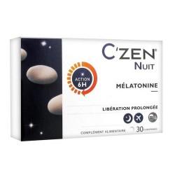 C ZEN NUIT MELATONINE - 30 COMPRIMES CHAUVIN BAUSCH + LOMB