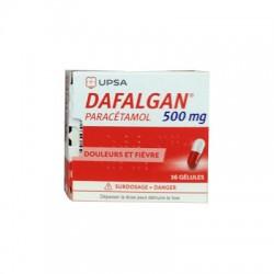 DAFALGAN 500MG 16 GELULES UPSA