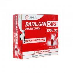 DAFALGANCAPS 1000MG 8 GELULES UPSA