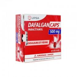 DAFALGANCAPS 500MG 16 GELULES UPSA