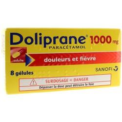 DOLIPRANE 1000MG ADULTE 8...