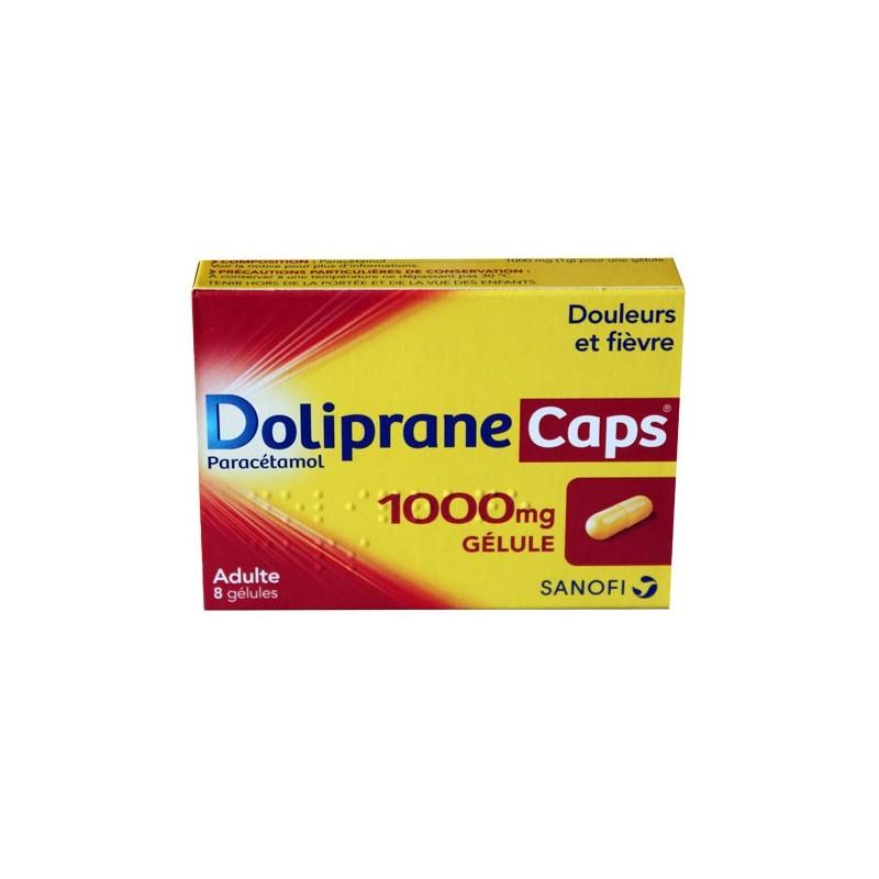 DOLIPRANECAPS 1000MG ADULTE 8 GELULES SANOFI