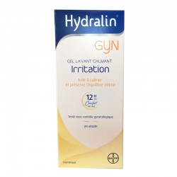 HYDRALIN GYN GEL LAVANT CALMANT IRRITATION 200ML BAYER