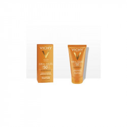 IDEAL SOLEIL CREME ONCTUEUSE PERFECTRICE DE PEAU PNS SPF 50+ 50ML VICHY