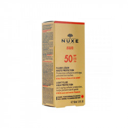 NUXE SUN FLUIDE LEGER VISAGE TRES HAUTE PROTECTION SPF50 50ML NUXE
