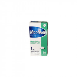 NICOTINELL MENTHE 1MG 36 COMPRIMES GSK