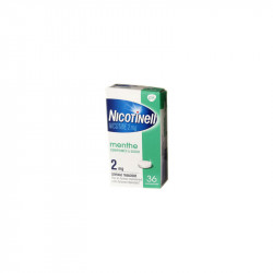 NICOTINELL MENTHE 2MG 36 COMPRIMES GSK