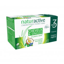 CHEVEUX & ONGLES LOT DE 2 X 45 CAPSULES NATURACTIVE