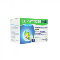 EUPHYTOSE NUIT 20 SACHETS A INFUSER BAYER