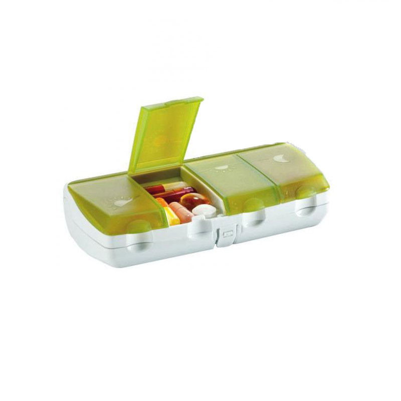 PILBOX DAILY PILULIER JOURNALIER COULEUR OLIVE