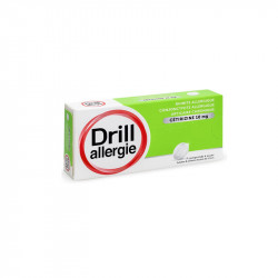 DRILL ALLERGIE CETIRIZINE COMPRIMES A SUCER PIERRE FABRE