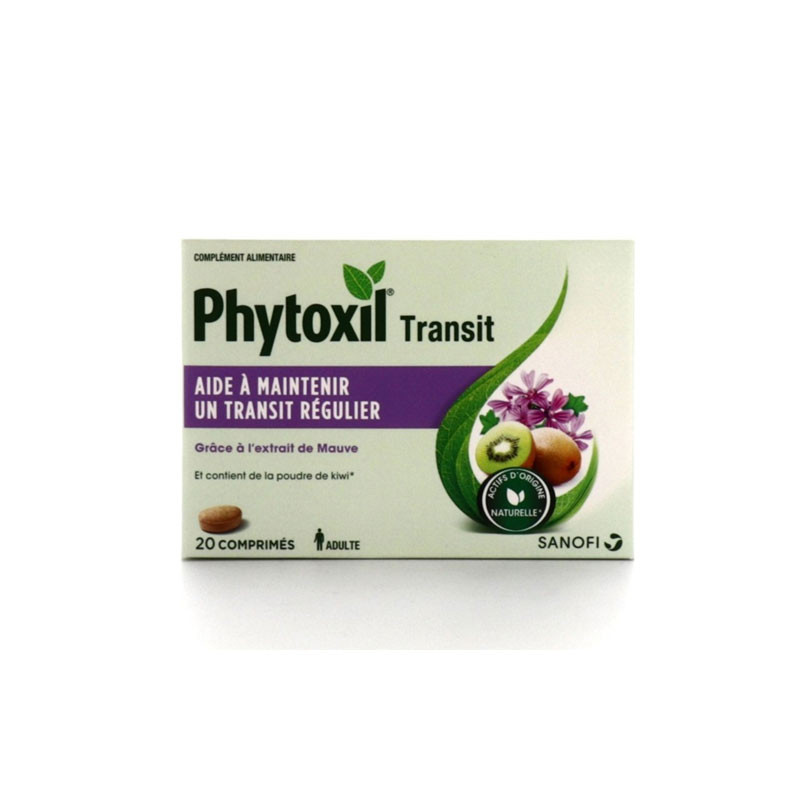PHYTOXIL TRANSIT 20 COMPRIMES SANOFI